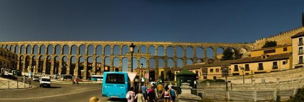Segovia, Madrid, Toledo and near death